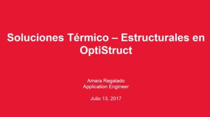 Soluciones Termico Estructurales OptiStruct